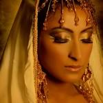 Beautiful Arabian bride